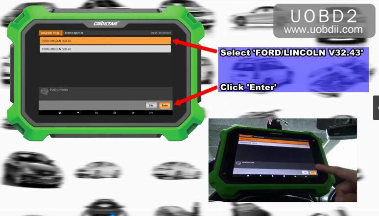 Ford F150 2016 Key Programming by OBDSTAR X300 DP Plus (5)