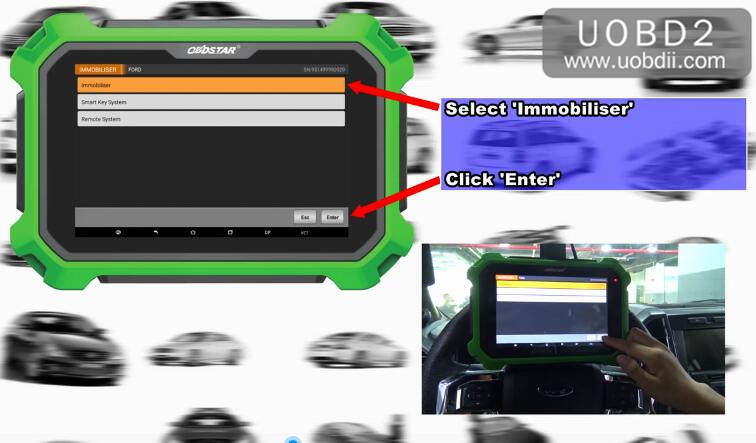 Ford F150 2016 Key Programming by OBDSTAR X300 DP Plus (7)