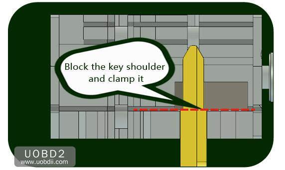 How to Use 2M2 Tank Key Cutting Machine (14)