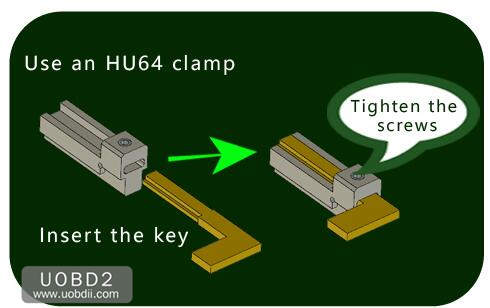 How to Use 2M2 Tank Key Cutting Machine (15)