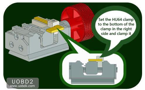 How to Use 2M2 Tank Key Cutting Machine (16)