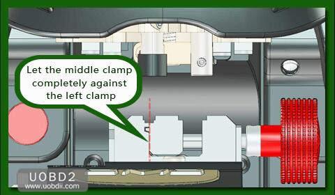 How to Use 2M2 Tank Key Cutting Machine (2)