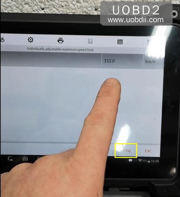 Autel MK908P Speed Limit Coding for VW T6 Delphi DCM6.2 (8)
