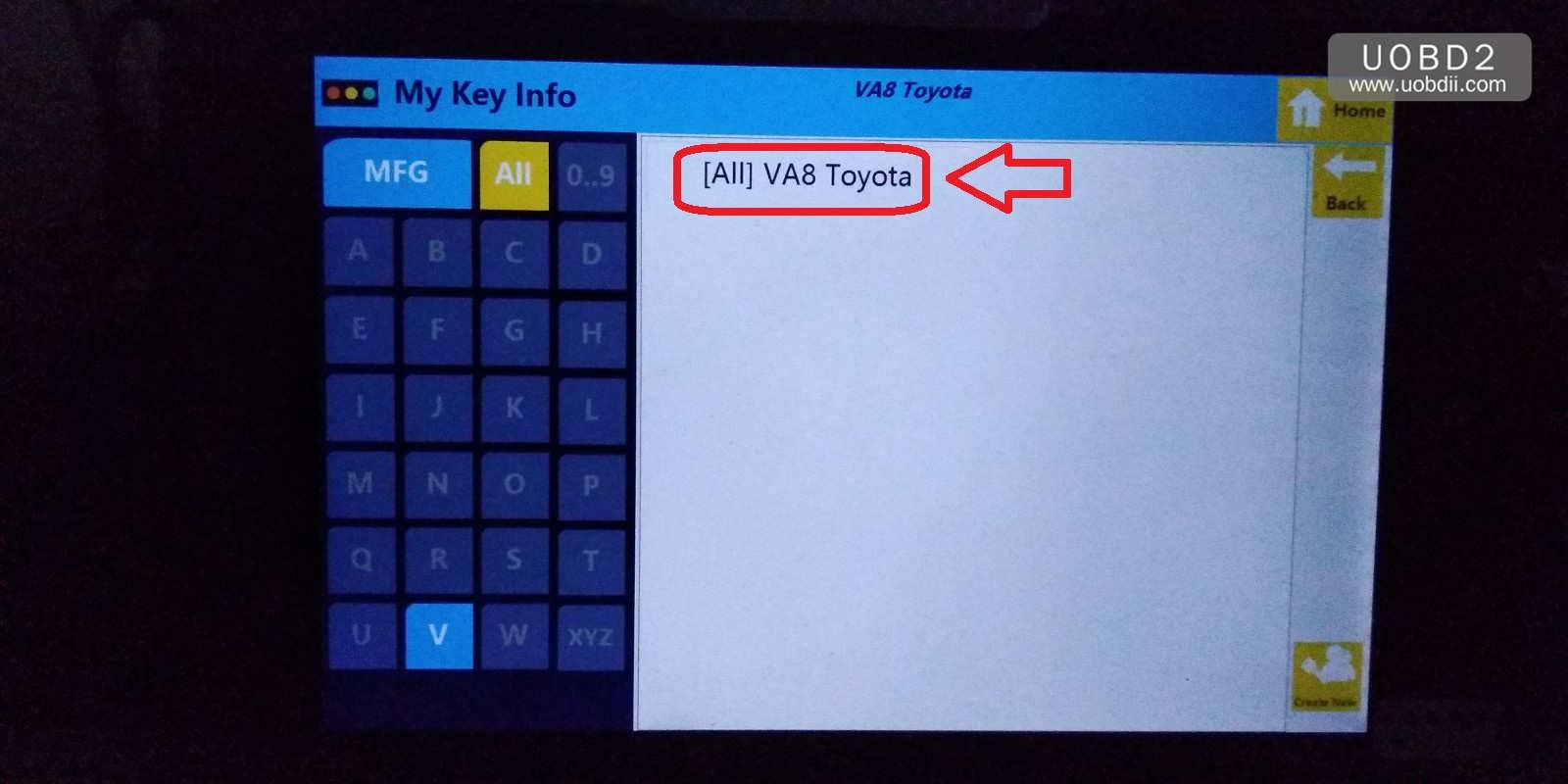 sec-e9z-create-new-key-for-va8-toyota-22