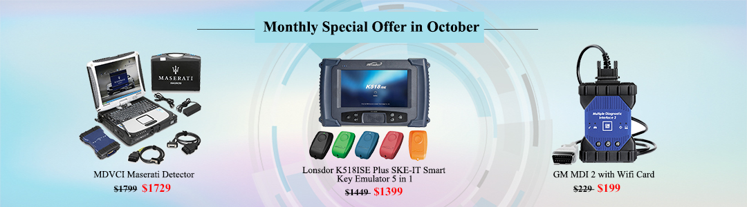 UOBD monthly Special Offer