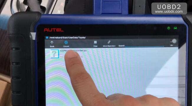 Autel IM508 & APB112 All Keys Lost Programming for Toyota Camry 2016 (10)