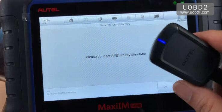 Autel IM508 & APB112 All Keys Lost Programming for Toyota Camry 2016 (13)