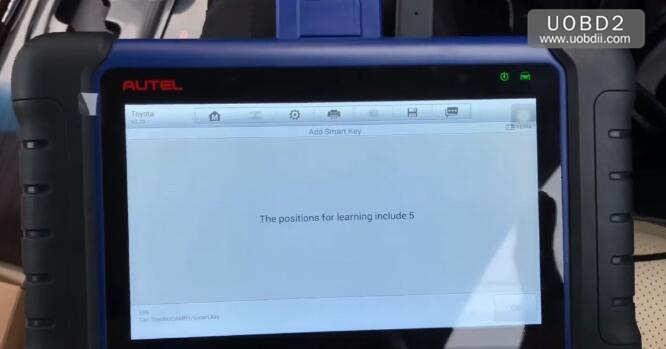 Autel IM508 & APB112 All Keys Lost Programming for Toyota Camry 2016 (18)