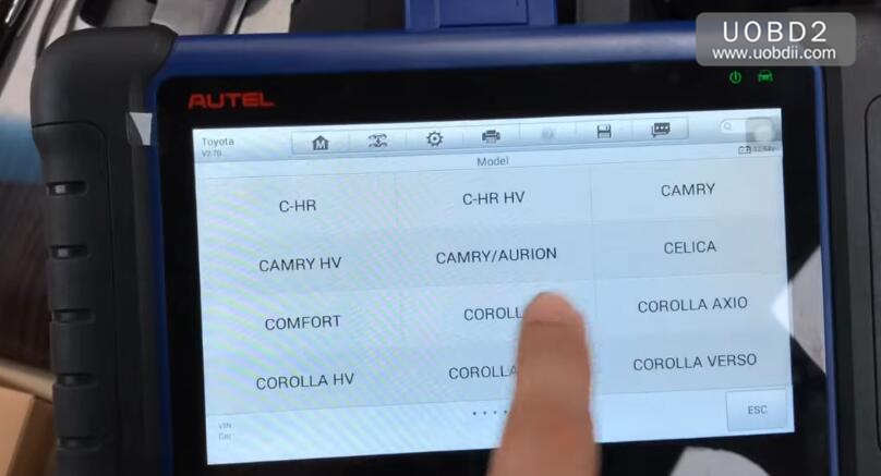 Autel IM508 & APB112 All Keys Lost Programming for Toyota Camry 2016 (4)