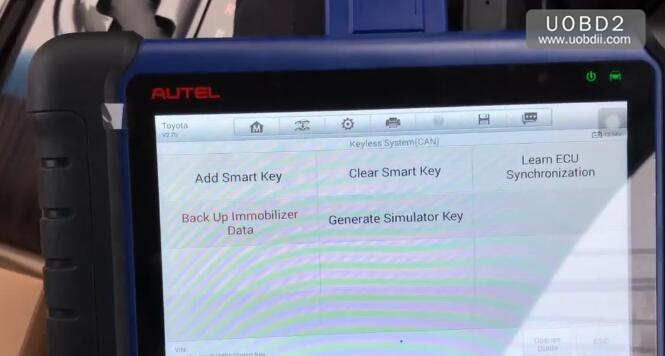 Autel IM508 & APB112 All Keys Lost Programming for Toyota Camry 2016 (8)