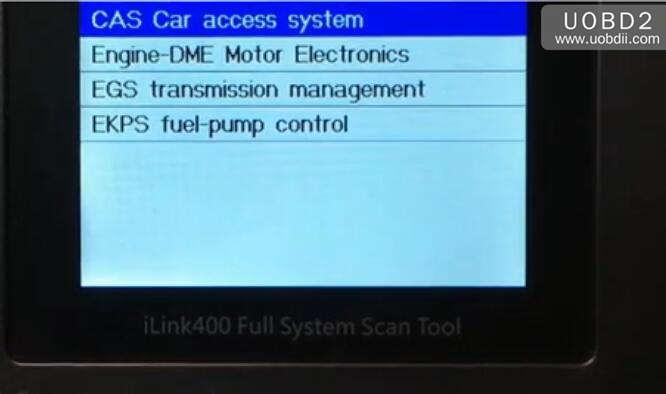 Vident iLink400 Feedback on BMW 525 E60 2006 (12)