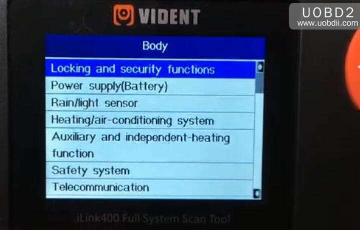 Vident iLink400 Feedback on BMW 525 E60 2006 (26)