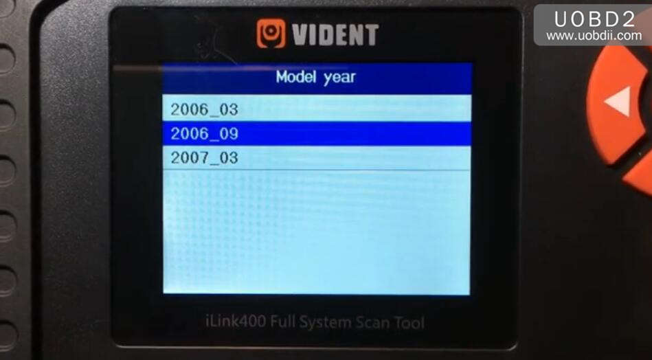 Vident iLink400 Feedback on BMW 525 E60 2006 (8)