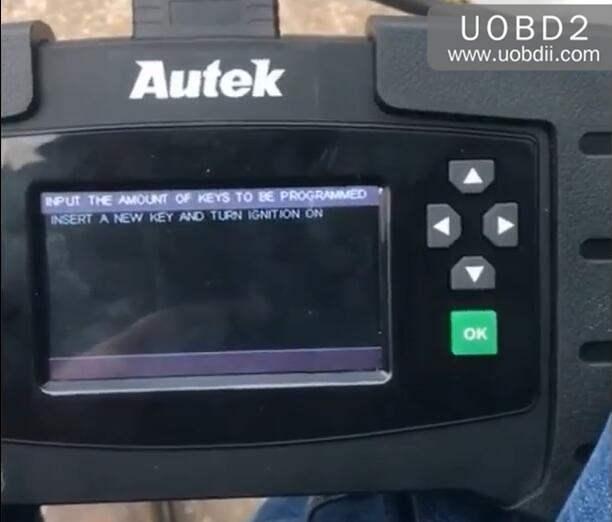 Autek iKey820 Program New Key for Honda Accord 1996 (10)
