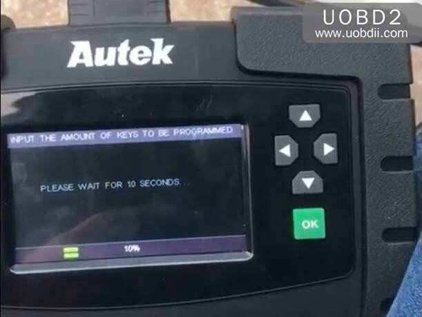 Autek iKey820 Program New Key for Honda Accord 1996 (13)