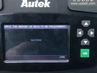 Autek iKey820 Program New Key for Honda Accord 1996 (17)