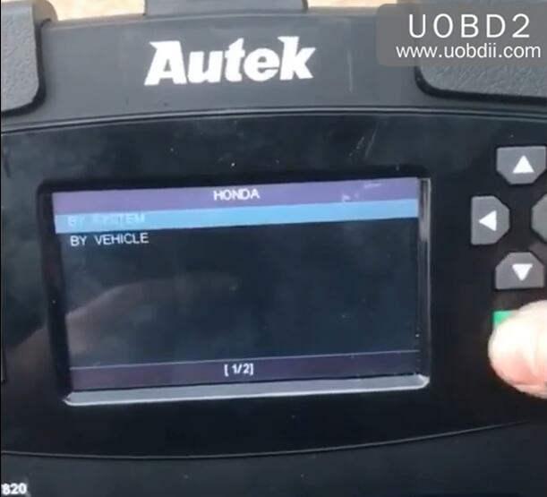 Autek iKey820 Program New Key for Honda Accord 1996 (3)