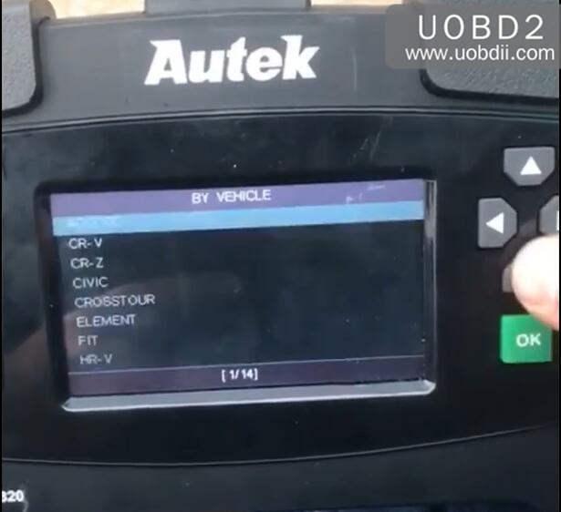 Autek iKey820 Program New Key for Honda Accord 1996 (4)