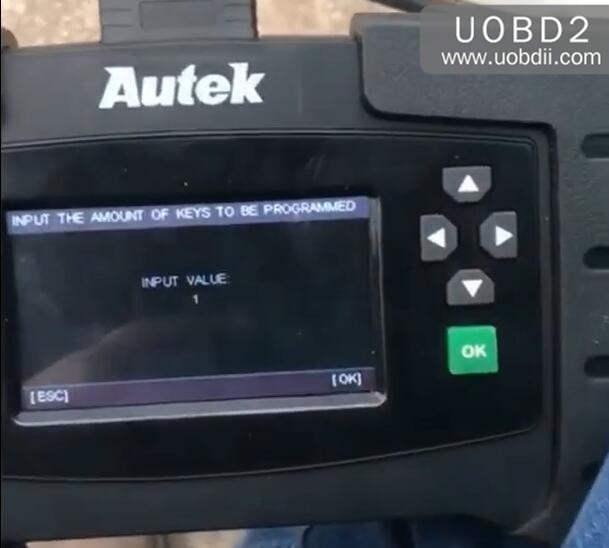 Autek iKey820 Program New Key for Honda Accord 1996 (8)