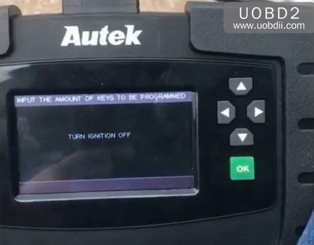 Autek iKey820 Program New Key for Honda Accord 1996 (9)