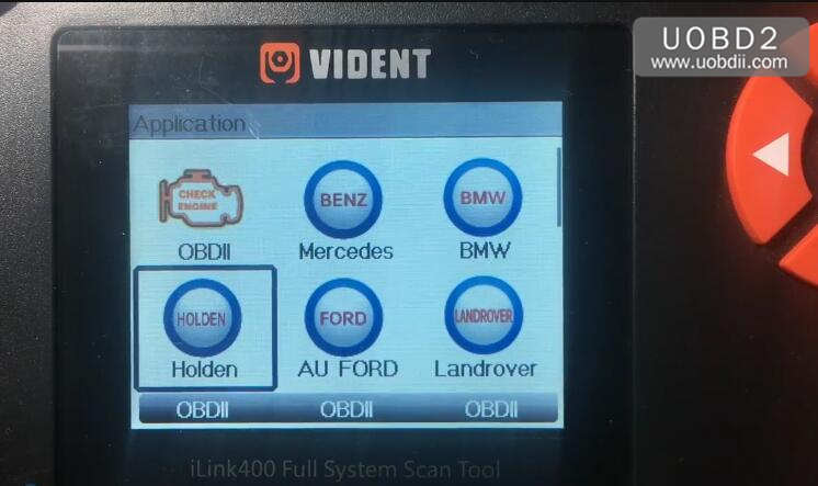 Vident iLink400 Review on Holden Commodore VZ 2005 (1)