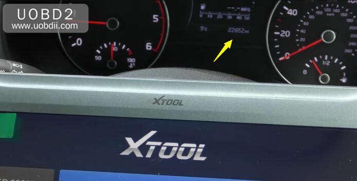 XTOOL A80 Mileage Adjustment for KIA Sportage (1)