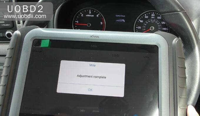 XTOOL A80 Mileage Adjustment for KIA Sportage (11)
