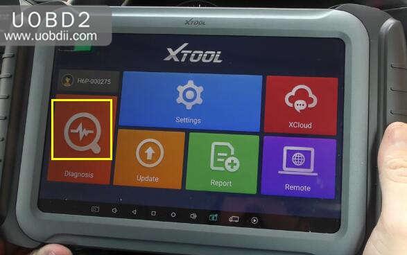 XTOOL A80 Mileage Adjustment for KIA Sportage (2)
