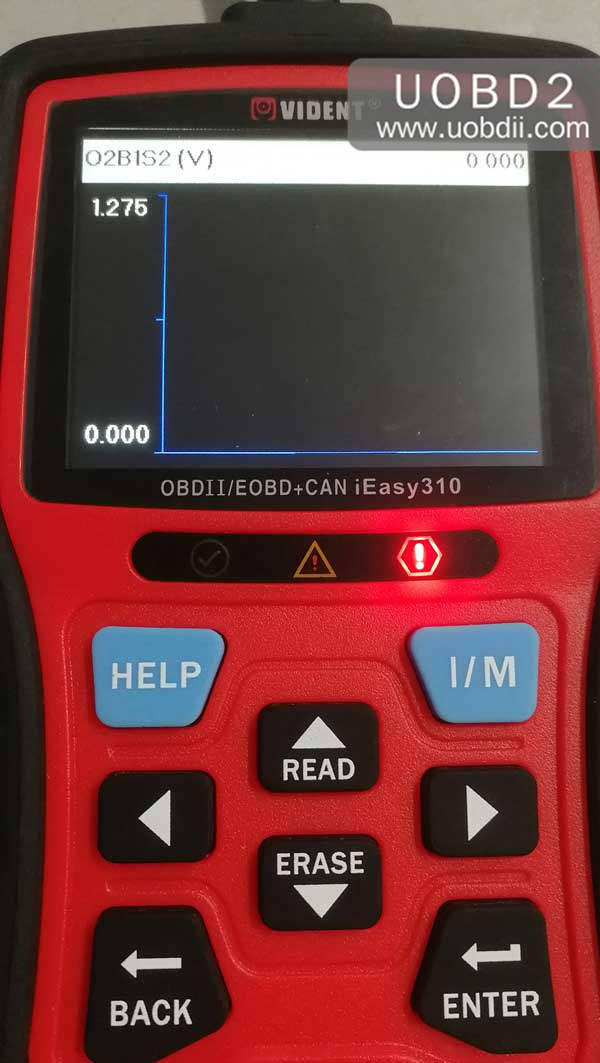 vident-ieasy310-scanner-review-on-diagnosing-toyota-camry-19