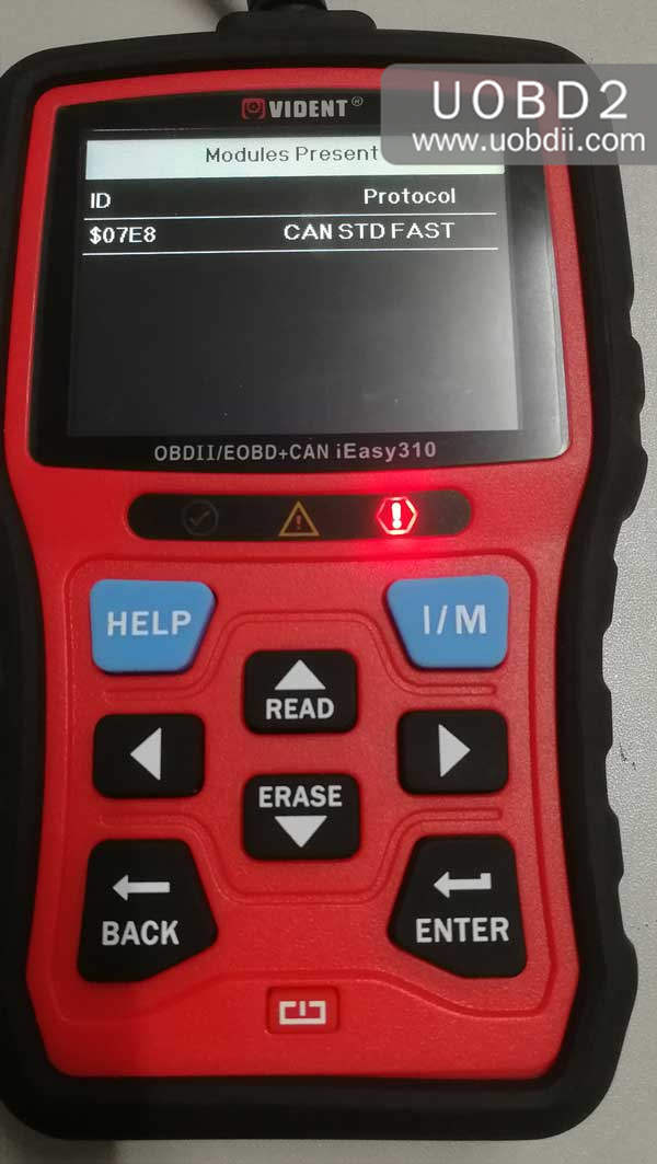 vident-ieasy310-scanner-review-on-diagnosing-toyota-camry-35