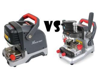 Xhorse Dolphin XP005 vs. XP007 Key Cutting Machine