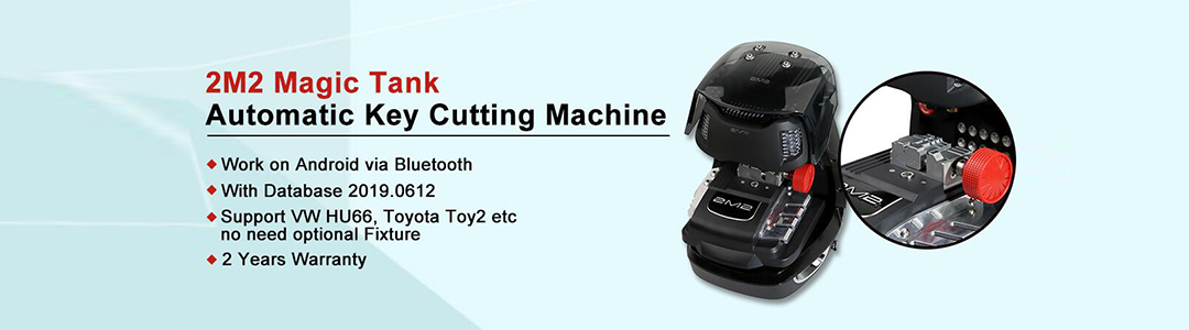 2M2 Key Cutting Machine