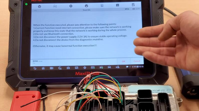 How-to-Use-Autel-G-Box2-Read-ISN-Code-for-BMW-N20-DME-9