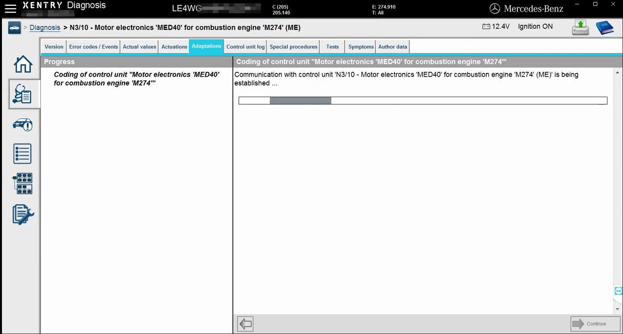 mercedes-w205-engine-online-coding-with-vxdiag-c4-12