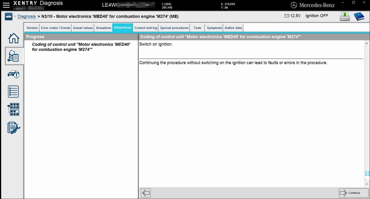mercedes-w205-engine-online-coding-with-vxdiag-c4-14