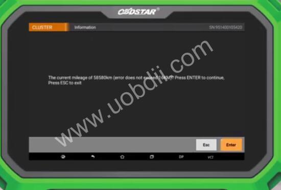 Audi-A4L-2012-Odometer-Calibration-by-OBDSTAR-X300-DP-Plus-4