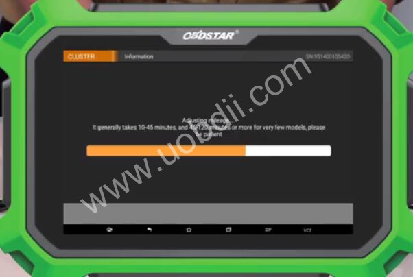 Audi-A4L-2012-Odometer-Calibration-by-OBDSTAR-X300-DP-Plus-6