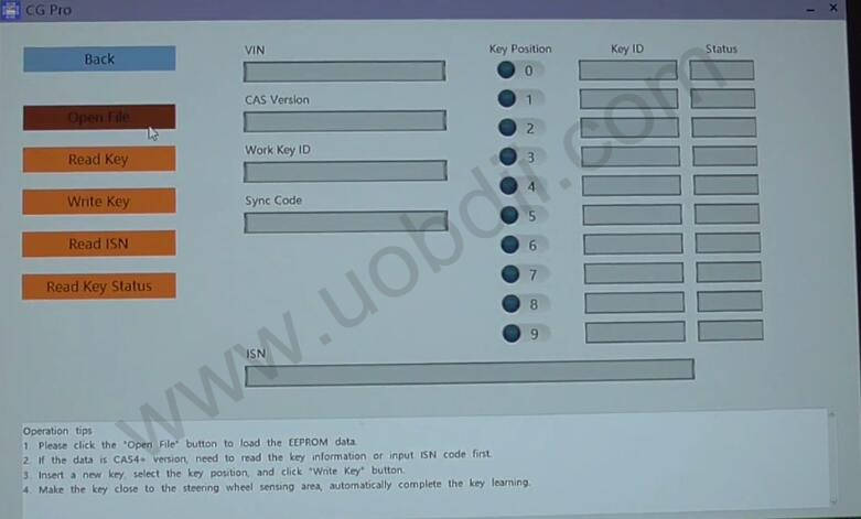CG-Pro-9S12-Read-BMW-CAS4-Data-without-Removing-Components-16