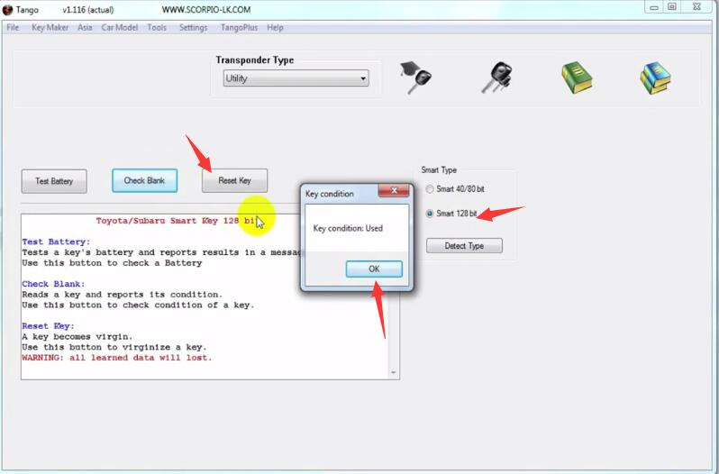 How-to-Use-Tango-Programmer-to-Reset-Toyota-Smart-key-6
