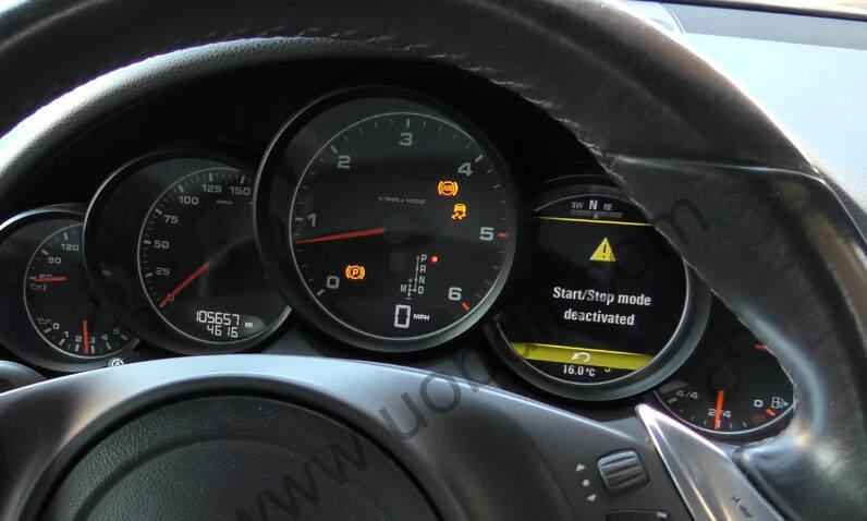 XTOOL-X100-Pro2-Adjust-Mileage-for-Porsche-Cayenne-1