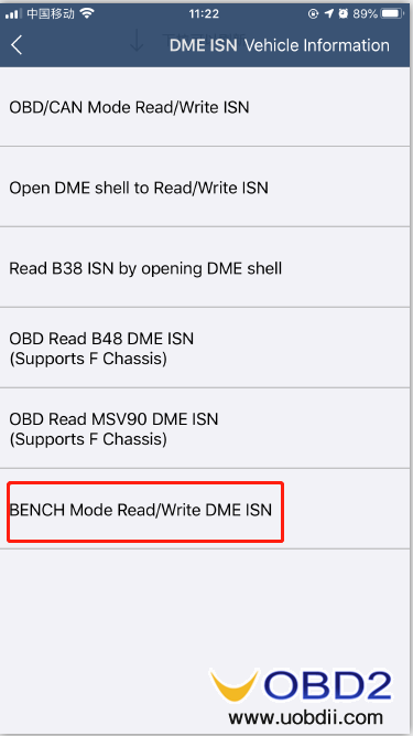 how-to-use-yanhua-bmw-dme-adpter-x4-05