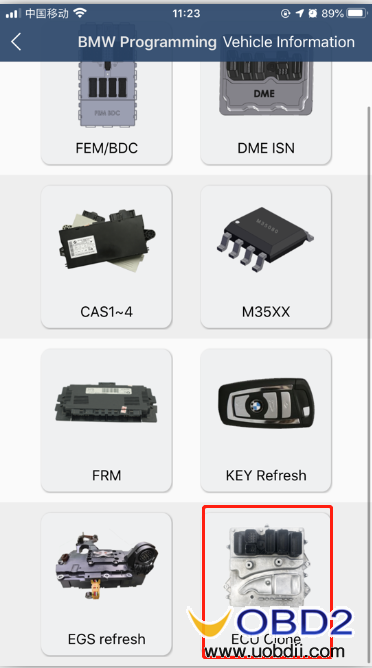 how-to-use-yanhua-bmw-dme-adpter-x4-09