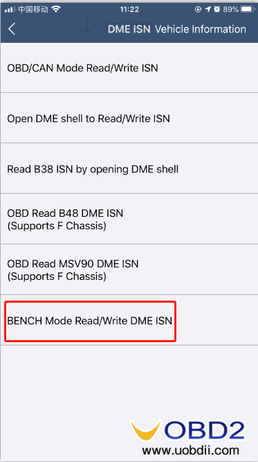 how-to-use-yanhua-bmw-dme-adpter-x5-05