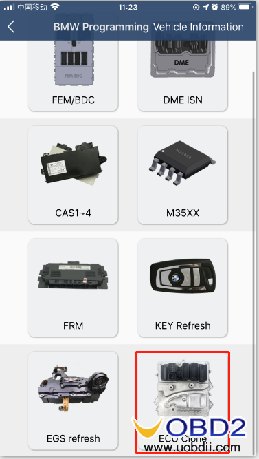 how-to-use-yanhua-bmw-dme-adpter-x5-09