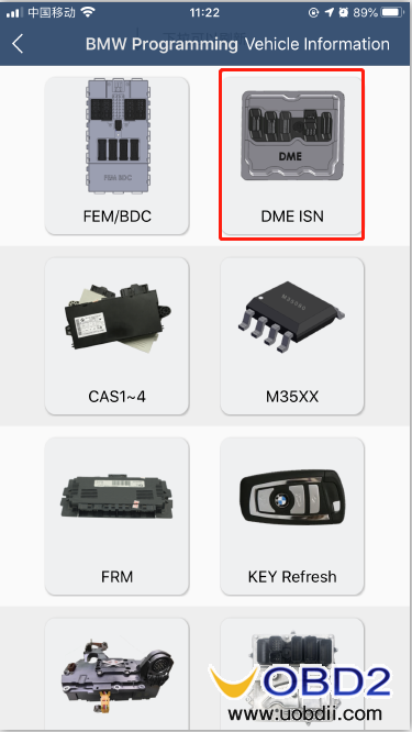 how-to-use-yanhua-bmw-dme-adpter-x8-04