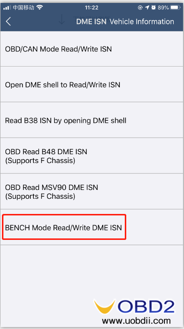 how-to-use-yanhua-bmw-dme-adpter-x8-05