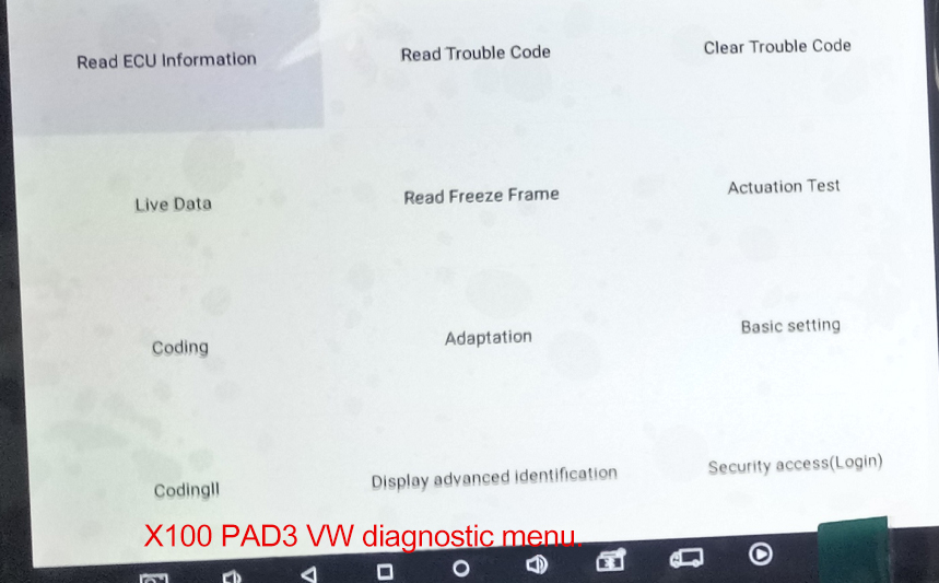 xtool-x100-pad3-vw-diagnosis