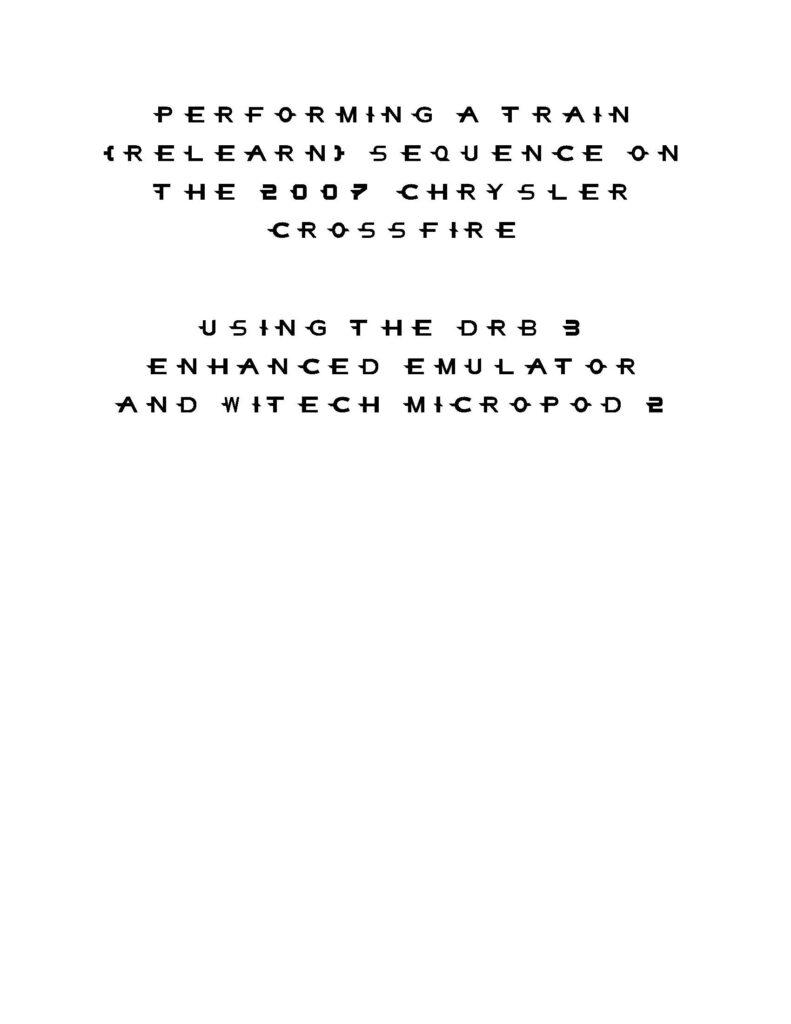 working-dbr-iii-emulator-for-chrysler-crossfire-2005-14