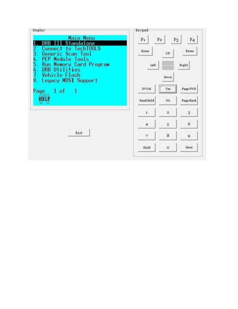 working-dbr-iii-emulator-for-chrysler-crossfire-2005-15