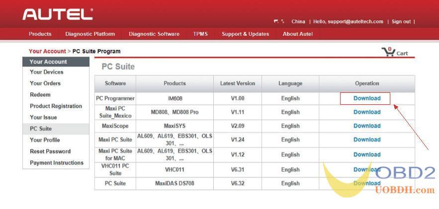 Autel XP400 Software download